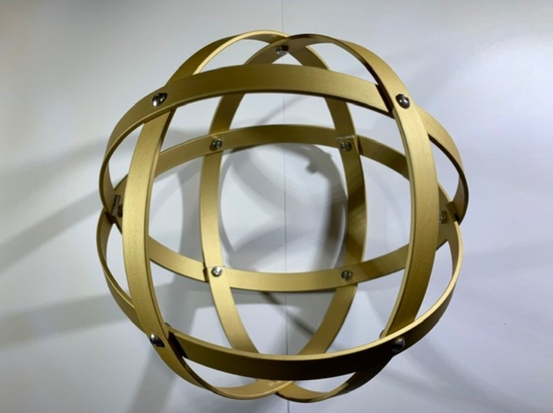 genesa-21-cm-alluminio-satinato-oro-profilo-1-5-cm