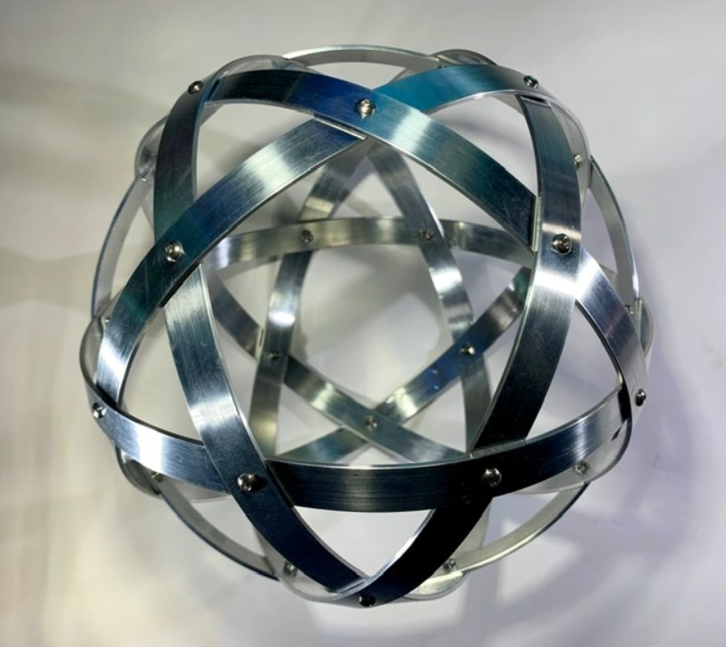 pentasfera-21-cm-alluminio-naturale-profilo-1-5-cm