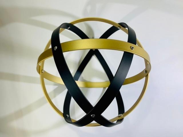 genesa-21-cm-alluminio-satinato-oro-e-nero-profilo-1-5-cm